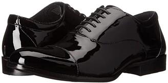 Stacy Adams Gala Cap Toe Oxford (Black Patent) Men's Lace Up Cap Toe Shoes
