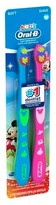 Oral-B Kid's Mickey and Minnie Soft Bristles Manual Toothbrush - 2 Count