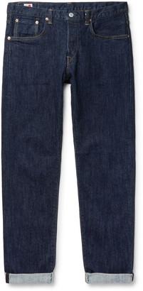 Edwin Regular Slim-Fit Tapered Selvedge Stretch-Denim Jeans