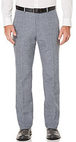 Perry Ellis Slim-Fit Flat-Front End-on-End Pants