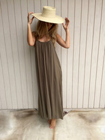 Tysa Eagle Dress In Olive