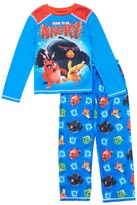 Komar Kids Blue Angry Birds 'Born To Be Angry' Pajama Set - Boys