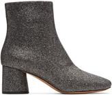 Marc Jacobs Silver Valentine Boots