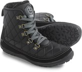 Khombu Serina Quilted Lace-Up Boots - Waterproof, Insulated (For Women)