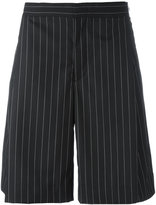 Juun.J wide pin stripe shorts
