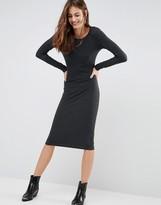 Brave Soul Bodycon Midi Dress