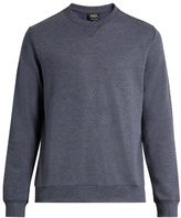 A.P.C. Crew-neck cotton-blend sweater