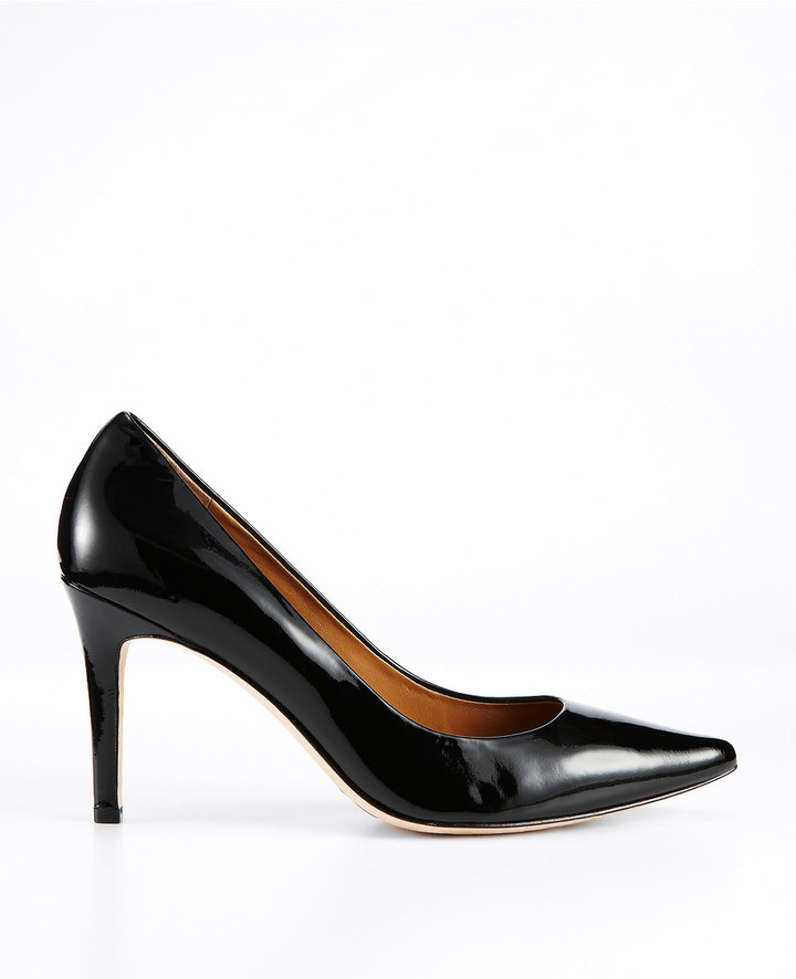 Ann Taylor Perfect Patent Leather Pointy Pumps