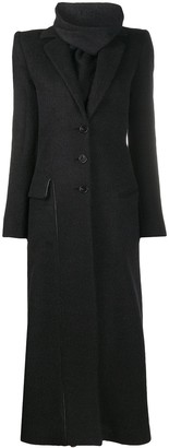 Ssheena Long Wool-Blend Coat