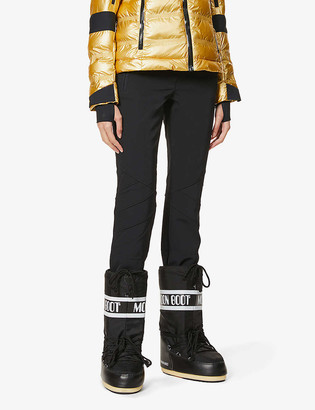 Toni Sailer Sestriere flared high-rise sports-jersey trousers