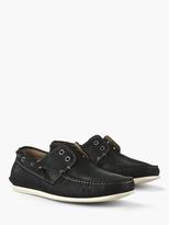 John Varvatos Schooner Laceless Boat Shoe