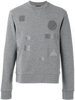 Joseph Tonal badge sweatshirt