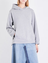 Maison Margiela Oversized cotton-blend hoody