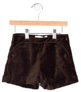 Tartine et Chocolat Girls' Velvet Mini Shorts