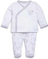 Kissy Kissy Unisex Seesaw Playdate Crossover Shirt & Footie Pants Set