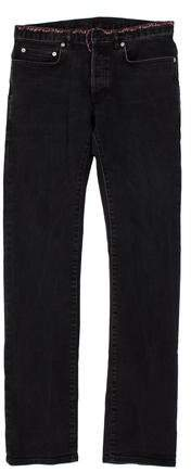 Christian Dior Embroidered Flared Jeans