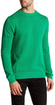 Gant Pique Crew Neck Textured Sweater