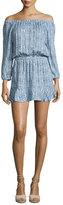 Soft Joie Sarnie Blouson Mini Dress, Blue