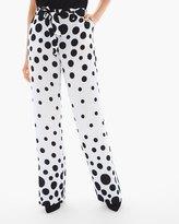 Chico's Dot-Print Trouser