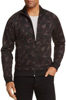 Fred Perry Camouflage Print Track Jacket