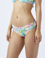 Accessorize Desert Rose Print Fold Down Bikini Briefs