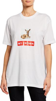 Burberry Carrick Crown T Shirt