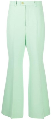 Gucci High-Waist Flared Trousers