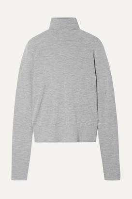Co Cashmere Turtleneck Sweater - Gray