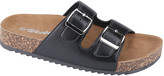 Weeboo Women's Sandals BLACK - Black Buckle-Accent Summer Sandal - Women