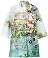 Antonio Marras embellished printed coat