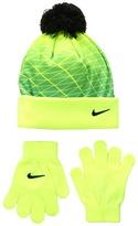 Nike Graphic Pom Beanie Gloves Set Beanies