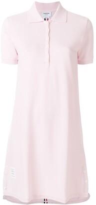 Thom Browne polo a-line dress