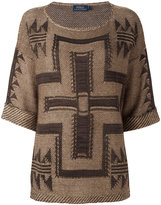 Polo Ralph Lauren indigenous jumper - women - Silk/Linen/Flax - M