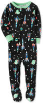 Carter's 1-Pc. Space-Print Footed Pajamas, Baby Boys (0-24 months)