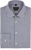 Barneys New York Men's Gingham Poplin Shirt