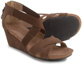 Adrienne Vittadini Timbo Wedge Sandals - Nubuck (For Women)