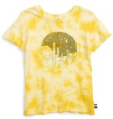 Splendid Boy's Tie Dye Desert Screenprint T-Shirt