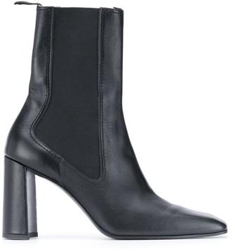 Nina Ricci Square Toe Ankle Boots