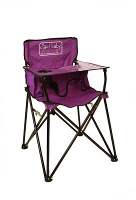 Portable Kids Chair Ciao! Baby Color: Purple