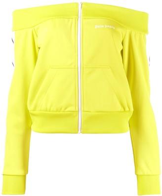 Palm Angels bardot track jacket