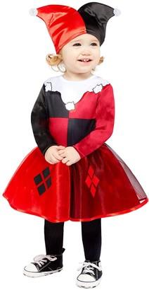 Dc Super Hero Girls Harley Quinn Toddler Costume