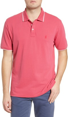 johnnie-O Hangin' Out Lennox Tipped Short Sleeve Pique Polo