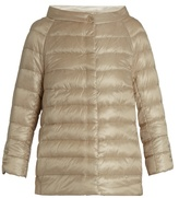 Herno Boat-neck quilted down jacket