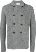 Brunello Cucinelli double breasted coat - men - Cotton - 48