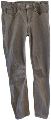 Helmut Lang Grey Cotton Jeans