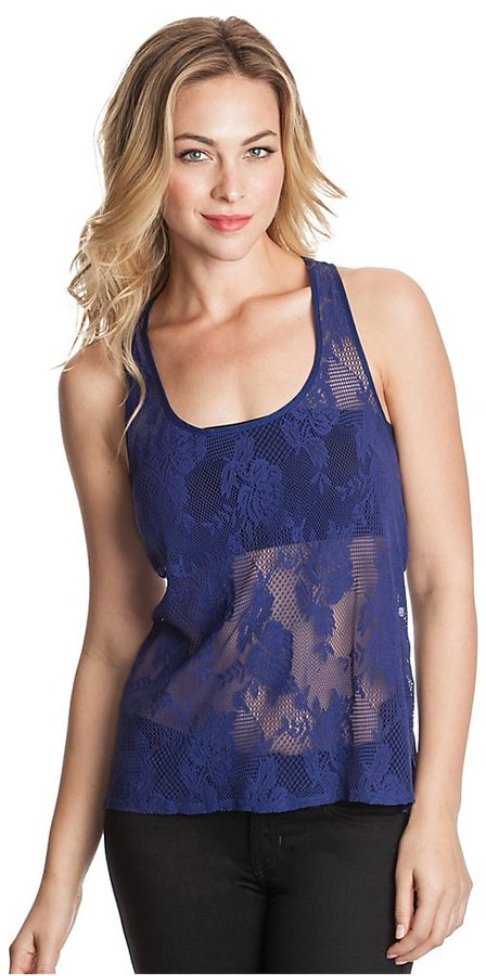GUESS Holly Lace Tank