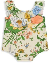 Gucci Baby's & Little Girl's Flora Print One-Piece Swimsuit