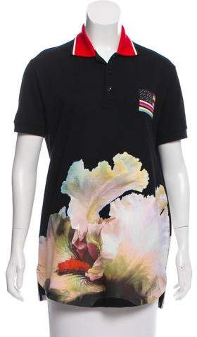 Givenchy Floral Polo Tunic w/ Tags