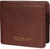 Scotch & Soda Leather Flip-Open Wallet