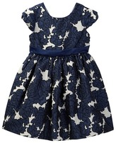 Iris & Ivy Floral Brocade Dress (Toddler & Little Girls)